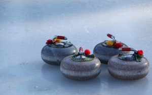 Rink Winter Ice Stones Bonspiel Sport Curling